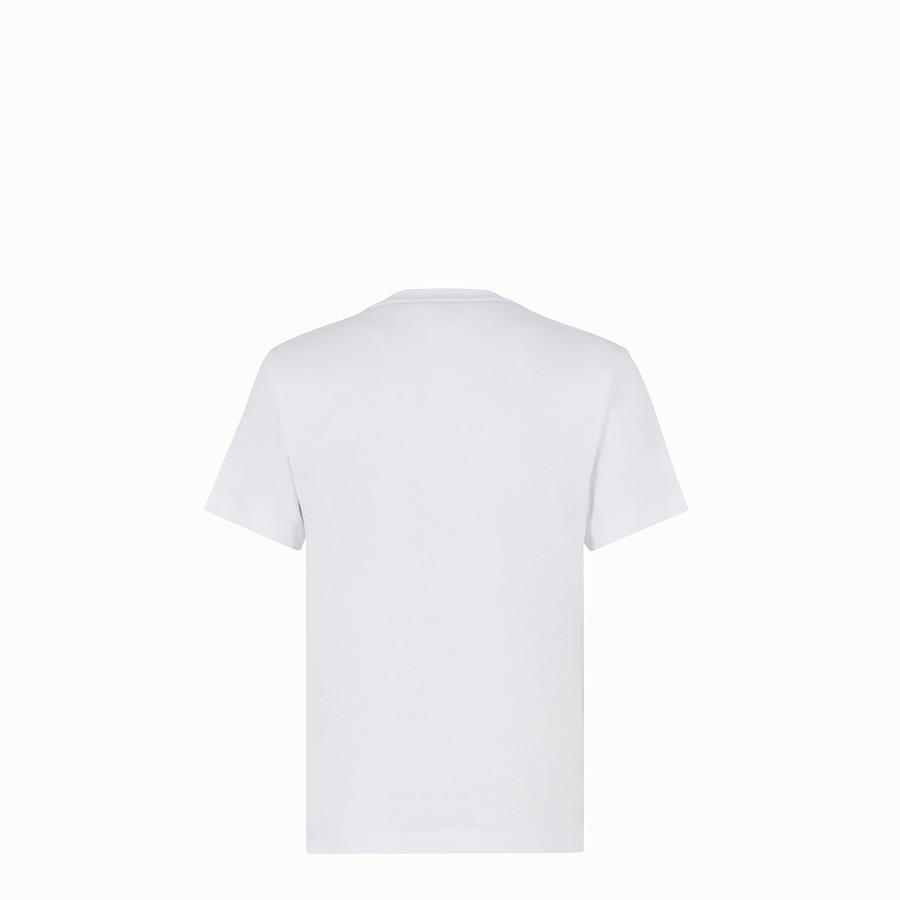 FENDI CAMISETA - Camiseta de punto color blanco - view 2 detail