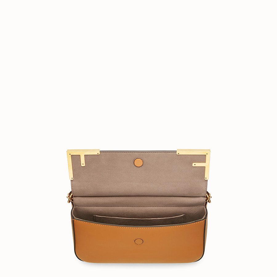 FENDI DOUBLE F - Multicolour canvas bag - view 4 detail