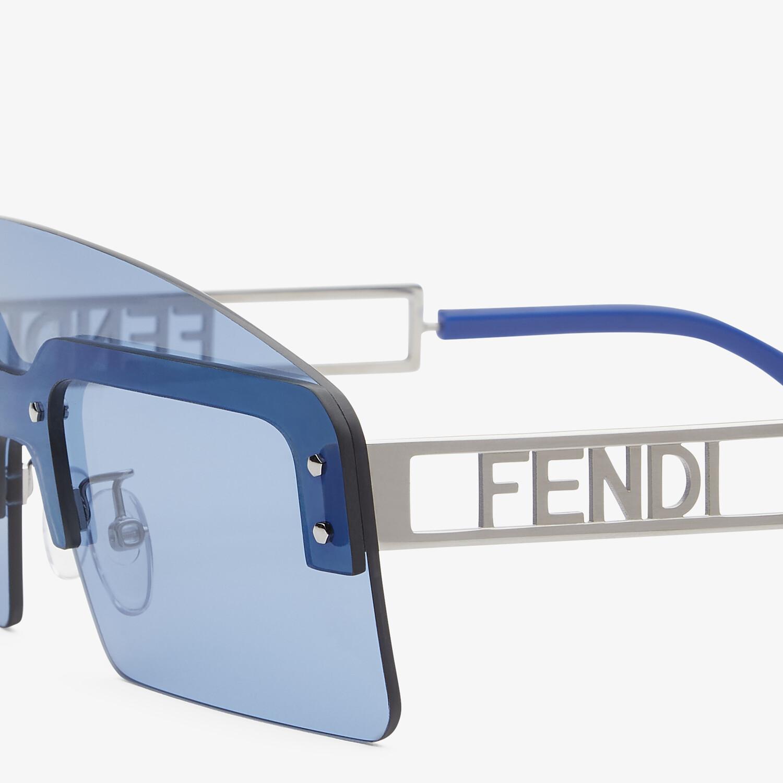 FENDI FS FENDI TECHNICOLOR - Lunettes de soleil Défilé de mode - view 3 detail