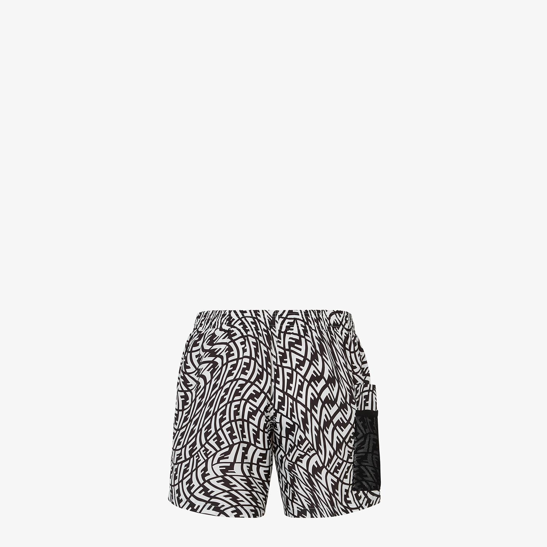 FENDI 游泳短褲 - 拼色Lycra®泳裝 - view 2 detail