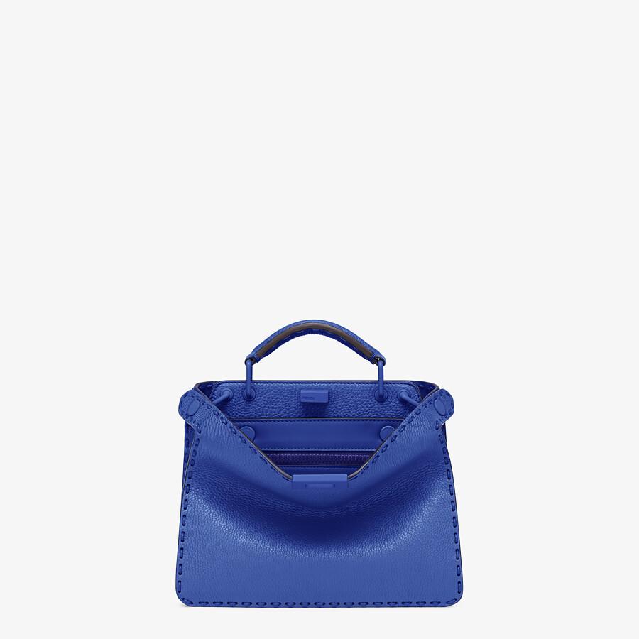 FENDI PEEKABOO ISEEU MINI - Blue leather bag - view 1 detail