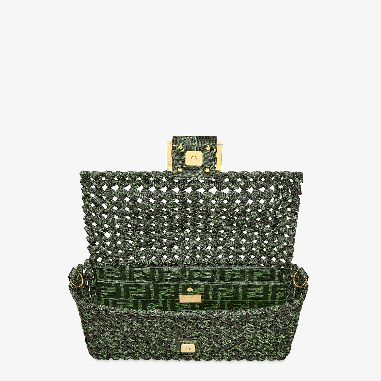 FENDI BAGUETTE - Jacquard fabric interlace bag - view 5 detail