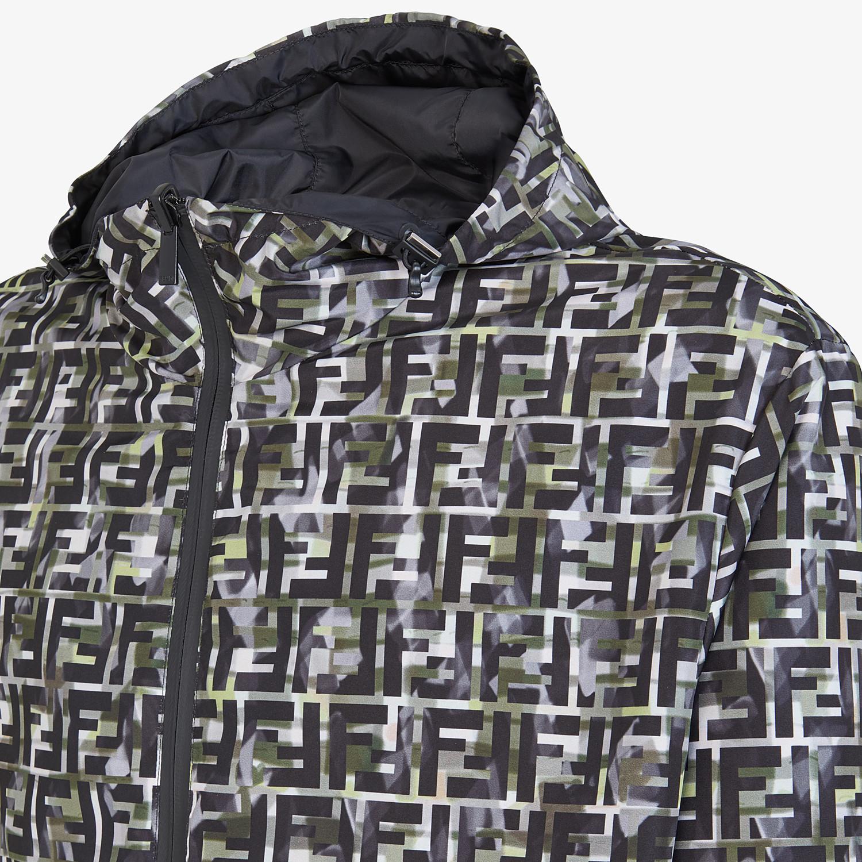 FENDI BLOUSON JACKET - Multicolor nylon jacket - view 3 detail