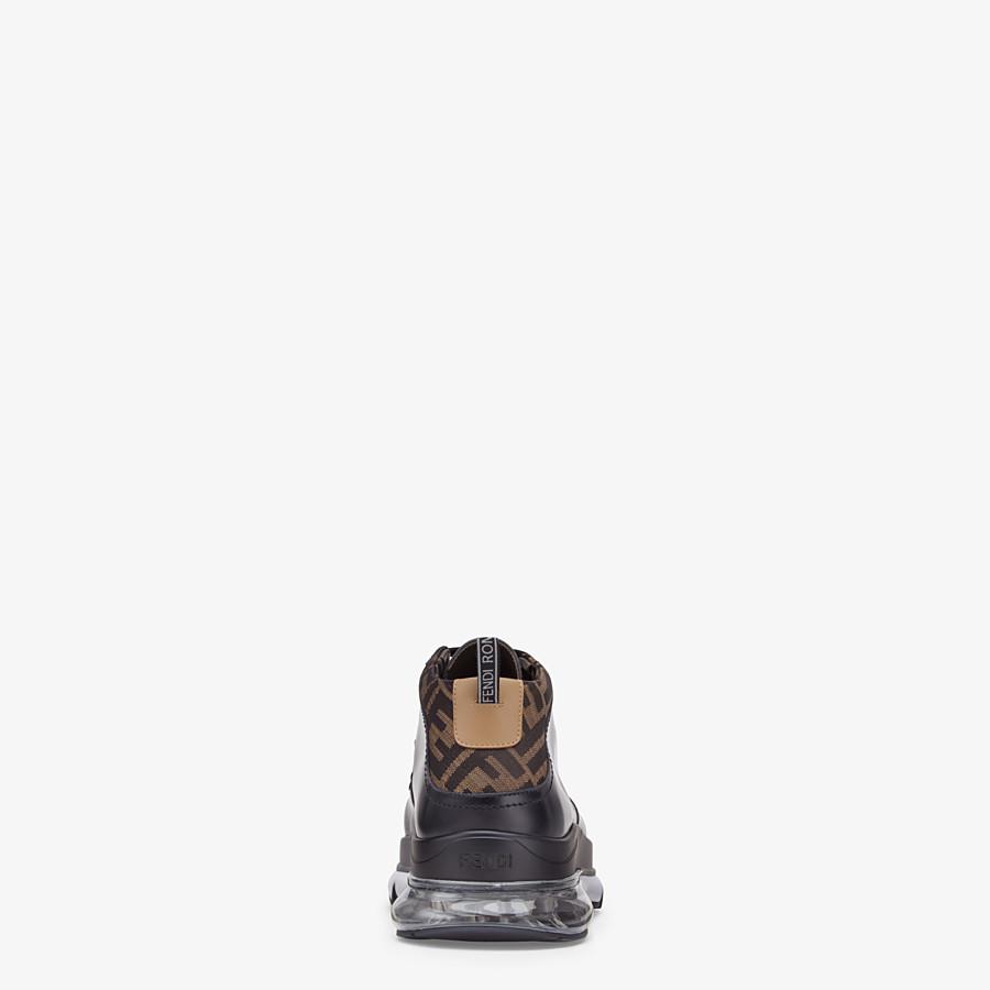 FENDI SNEAKERS - Schnürschuh aus Leder in Schwarz - view 3 detail