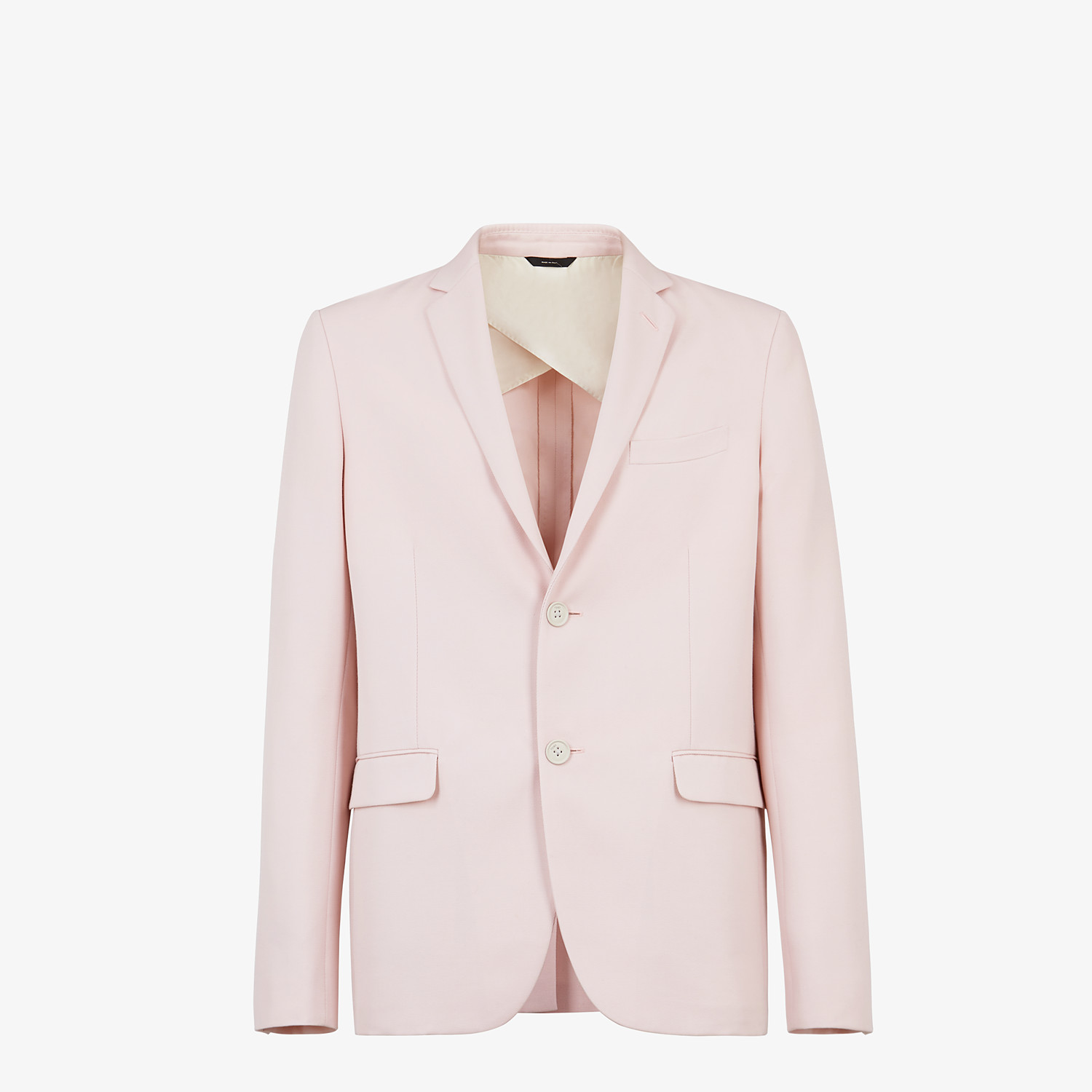 FENDI JACKET - Pink wool blazer - view 1 detail