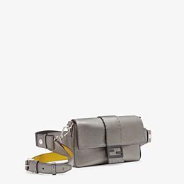 FENDI BAGUETTE - Grey leather bag - view 2 thumbnail