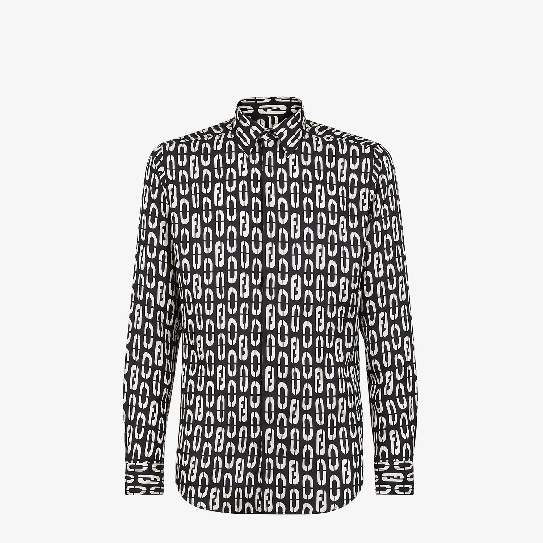 FENDI SHIRT - Multicolour silk shirt - view 1 detail