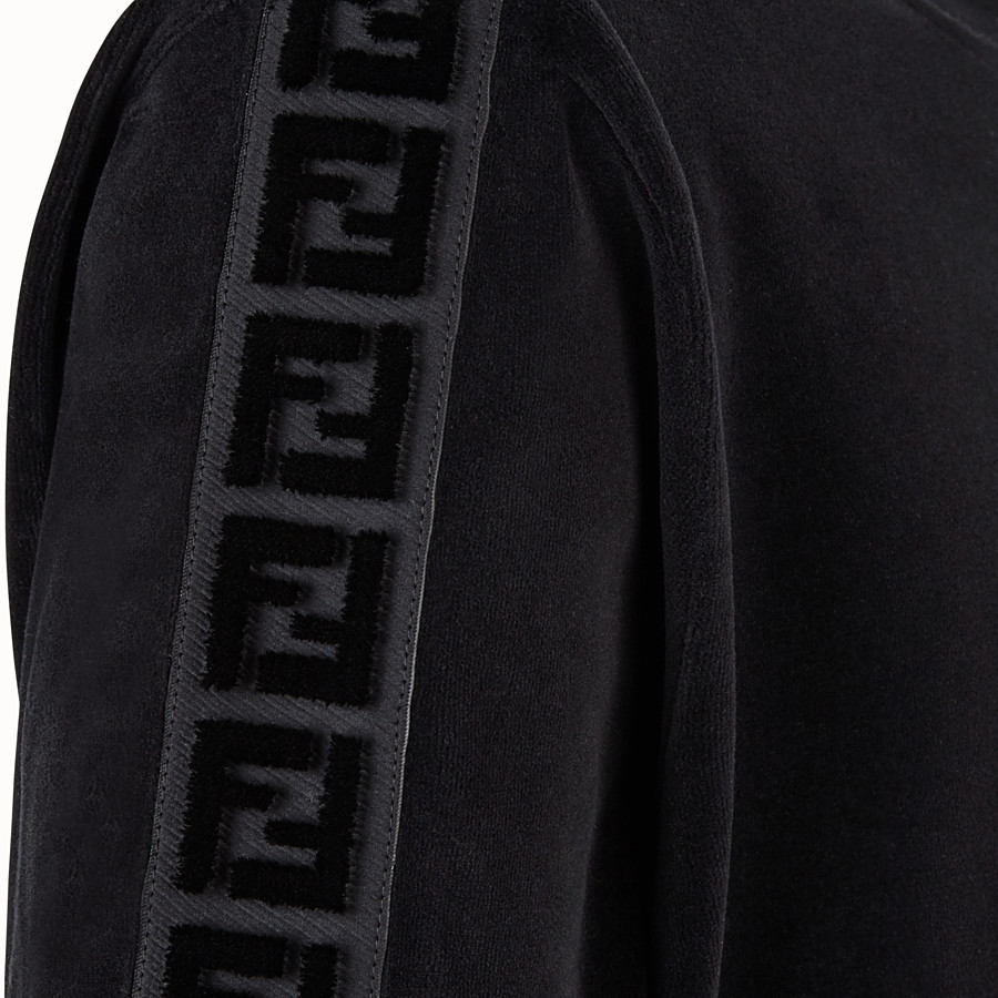 FENDI JUMPER - Fendi sweatshirt for Jackson Wang in chenille - view 3 detail