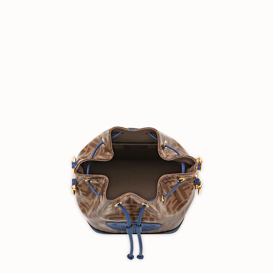 FENDI MON TRESOR - Multicolour fabric bag - view 4 detail