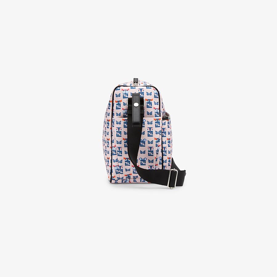 FENDI CHANGING BAG - Changing Bag in tessuto di colore rosa con stampa monster - vista 2 dettaglio