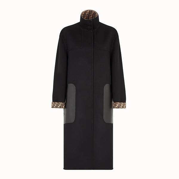 FENDI COAT - Multicolour wool coat - view 1 small thumbnail