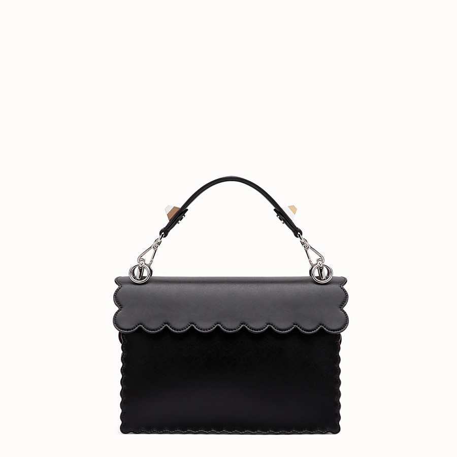 FENDI KAN I - Black leather bag - view 3 detail