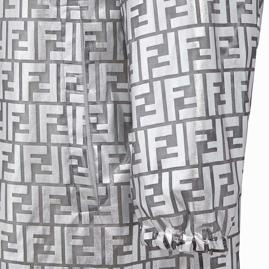 FENDI PARKA - Fendi Prints On nylon raincoat - view 3 detail