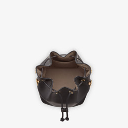 FENDI MON TRESOR - Black leather bag - view 4 thumbnail