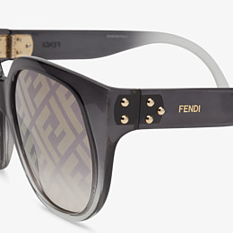 FENDI FENDI DAWN - Gradient effect injection-moulded sunglasses with FF logo - view 3 thumbnail