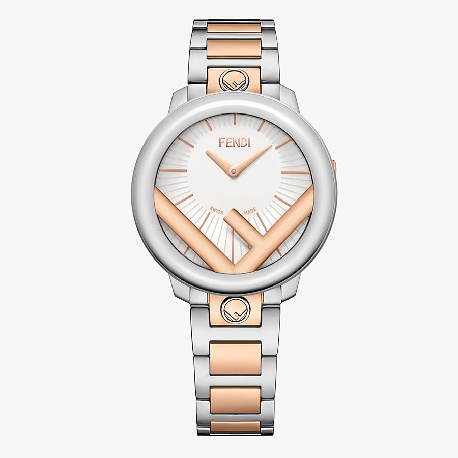 FENDI RUN AWAY - 36 mm (1.4 inch) - Watch with F is Fendi logo - view 1 detail