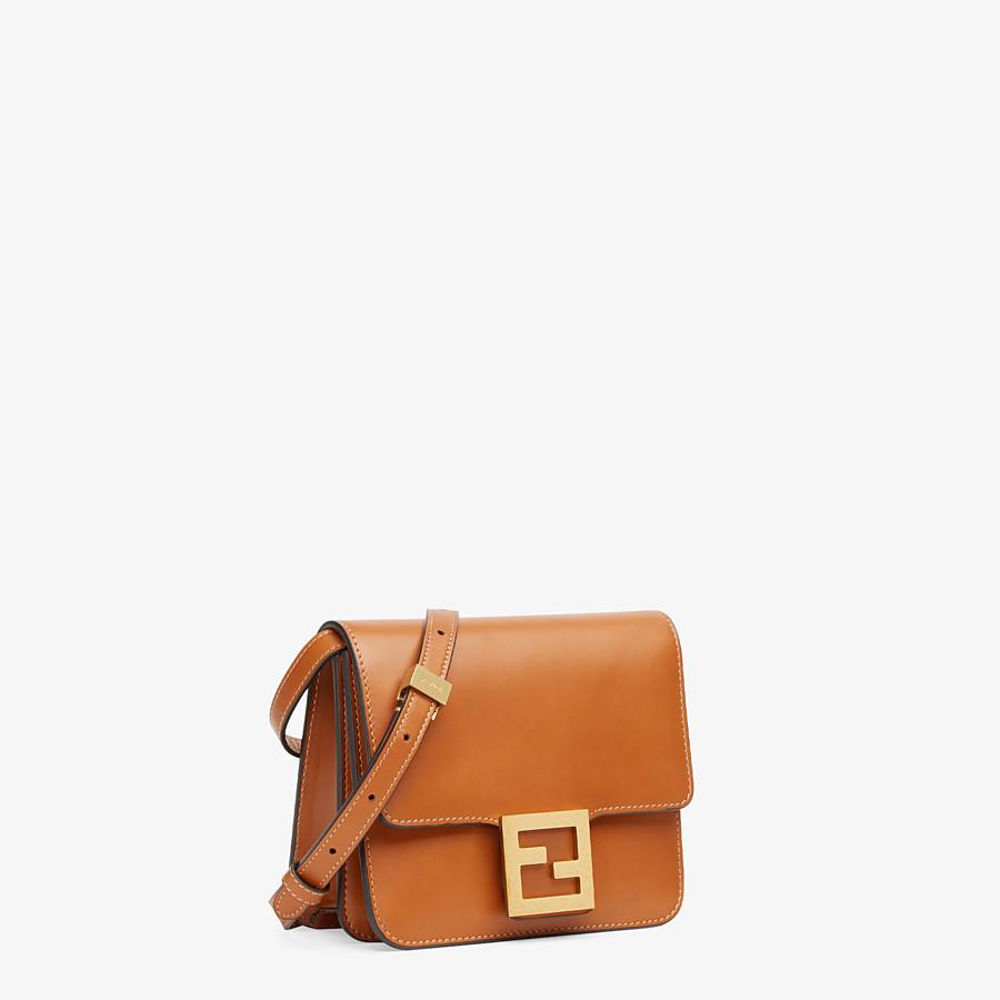 FENDI FENDI FAB - Brown leather bag - view 2 detail