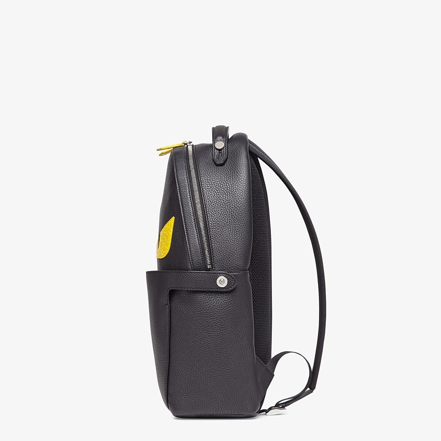 FENDI PEEKABOO BACKPACK - Black leather backpack - view 3 detail