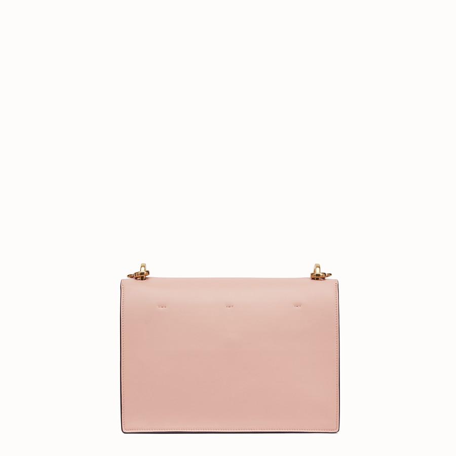 FENDI KAN U - Pink leather bag - view 4 detail