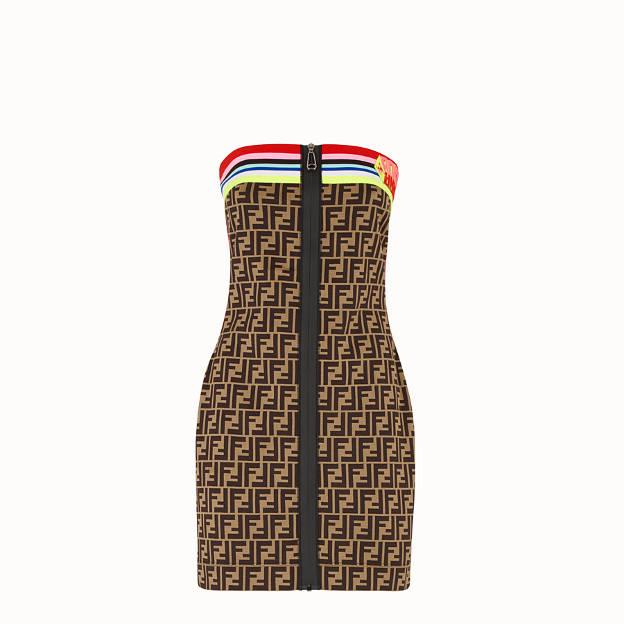 FENDI DRESS - Fendi Roma Amor jersey dress - view 1 detail