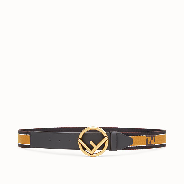 FENDI BELT - Multicolor fabric belt - view 1 small thumbnail