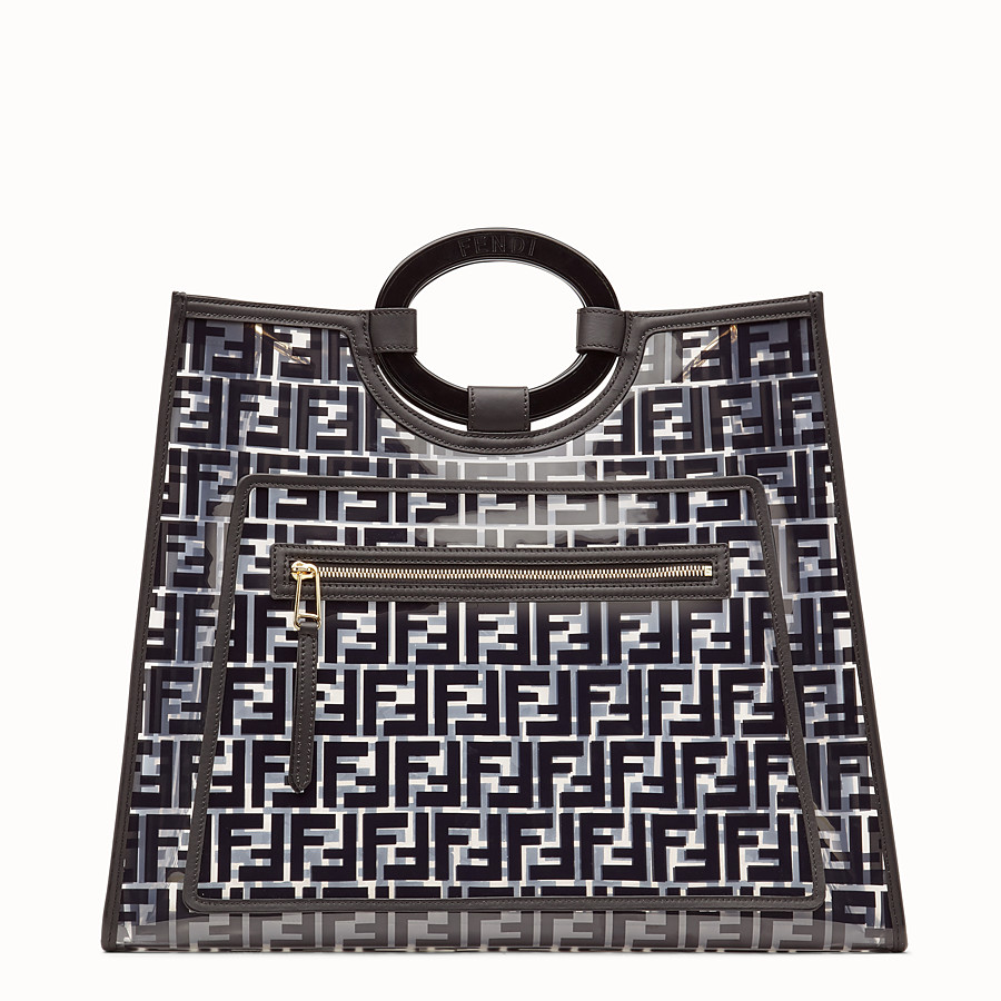 FENDI RUNAWAY SHOPPING - Sac shopping en PU - view 1 detail