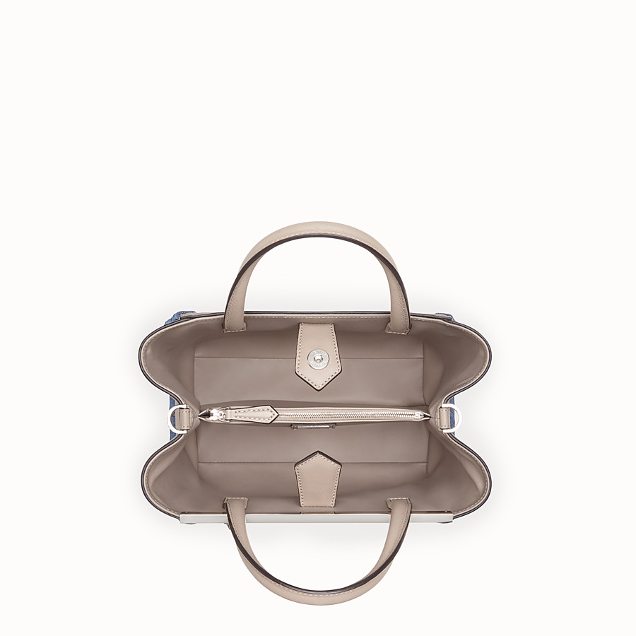 FENDI PETITE 2JOURS - Beige leather bag - view 4 detail