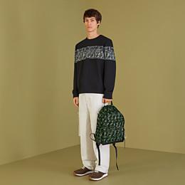 FENDI BACKPACK - Multicolour nylon backpack - view 5 thumbnail