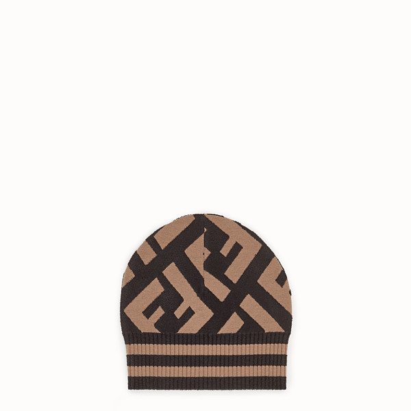 FENDI HAT - Multicolor wool and viscose hat - view 1 small thumbnail