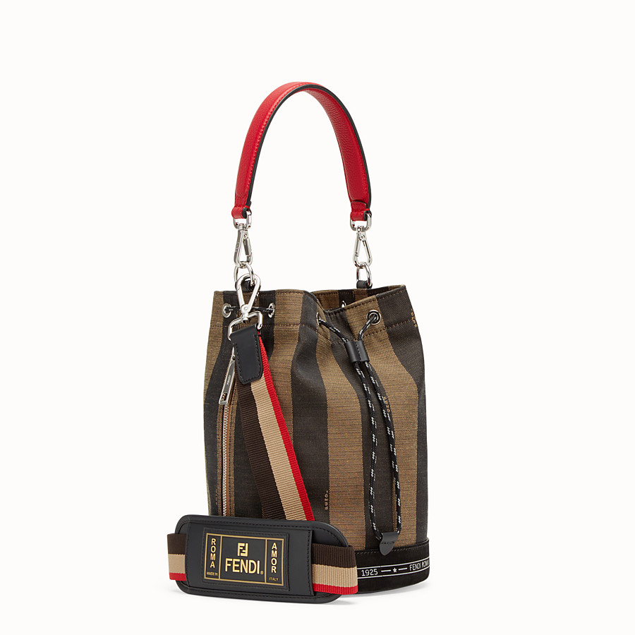 FENDI MON TRESOR - Small multicolour canvas bag - view 2 detail