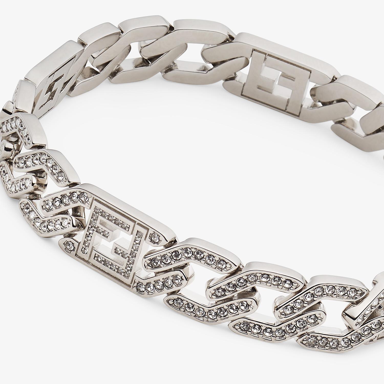 FENDI BRACELET - Silver-colored bracelet - view 2 detail