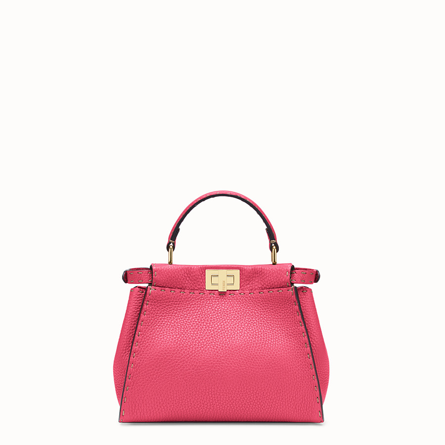 FENDI PEEKABOO MINI - Fendi Roma Amor leather bag - view 4 detail