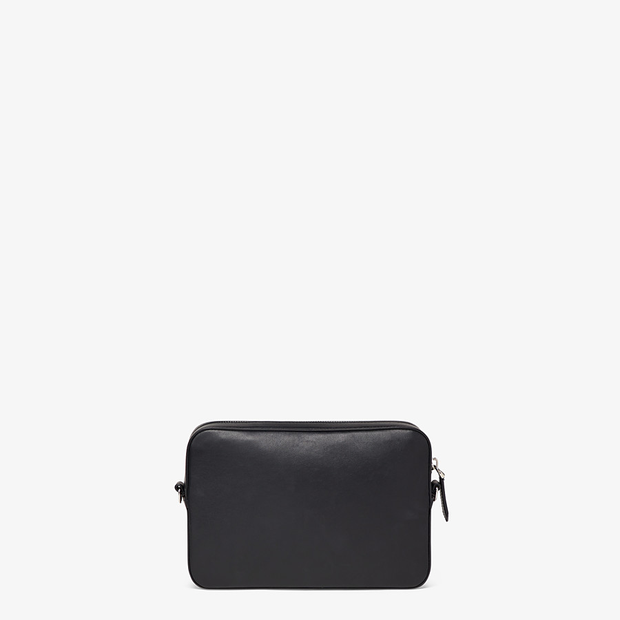FENDI CAMERA CASE - Black leather bag - view 3 detail