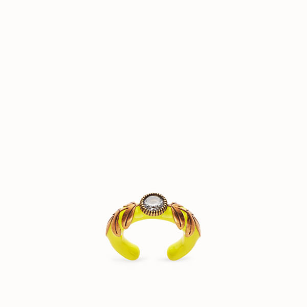 FENDI JULIUS CAESAR RING  - Ring in Gold und Gelb - view 1 small thumbnail