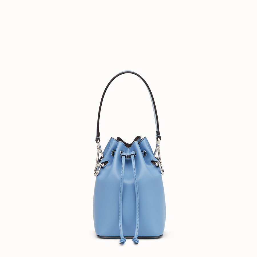 FENDI MON TRESOR - Pale blue leather minibag - view 1 detail