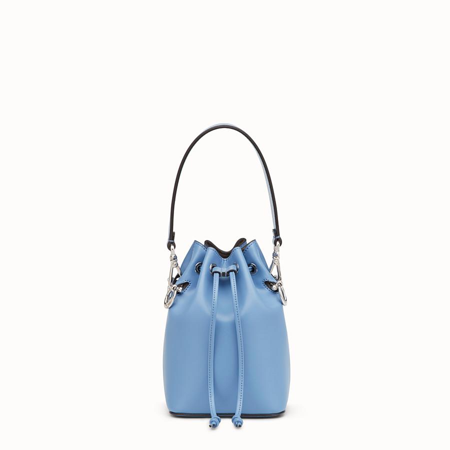 8b01af2018f2 Pale blue leather minibag - MON TRESOR