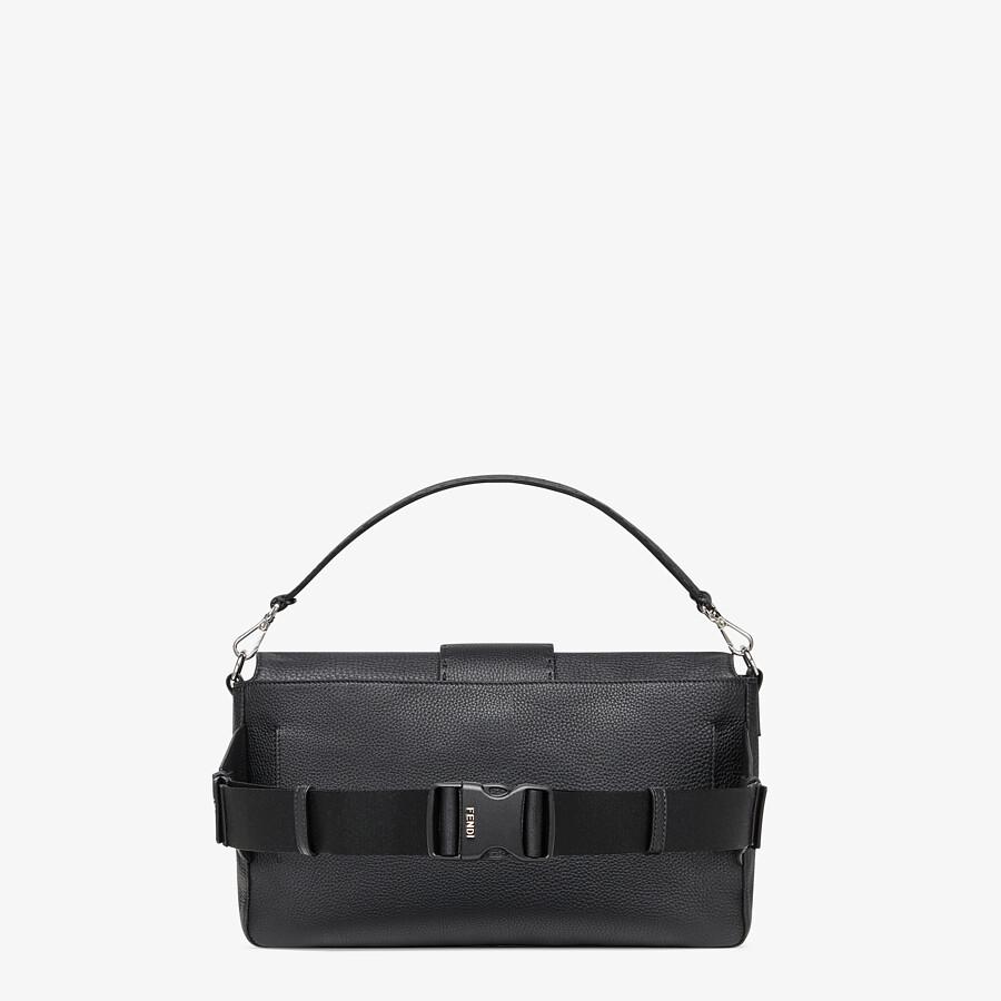 FENDI BAGUETTE LARGE - Tasche aus Kalbsleder in Schwarz - view 3 detail