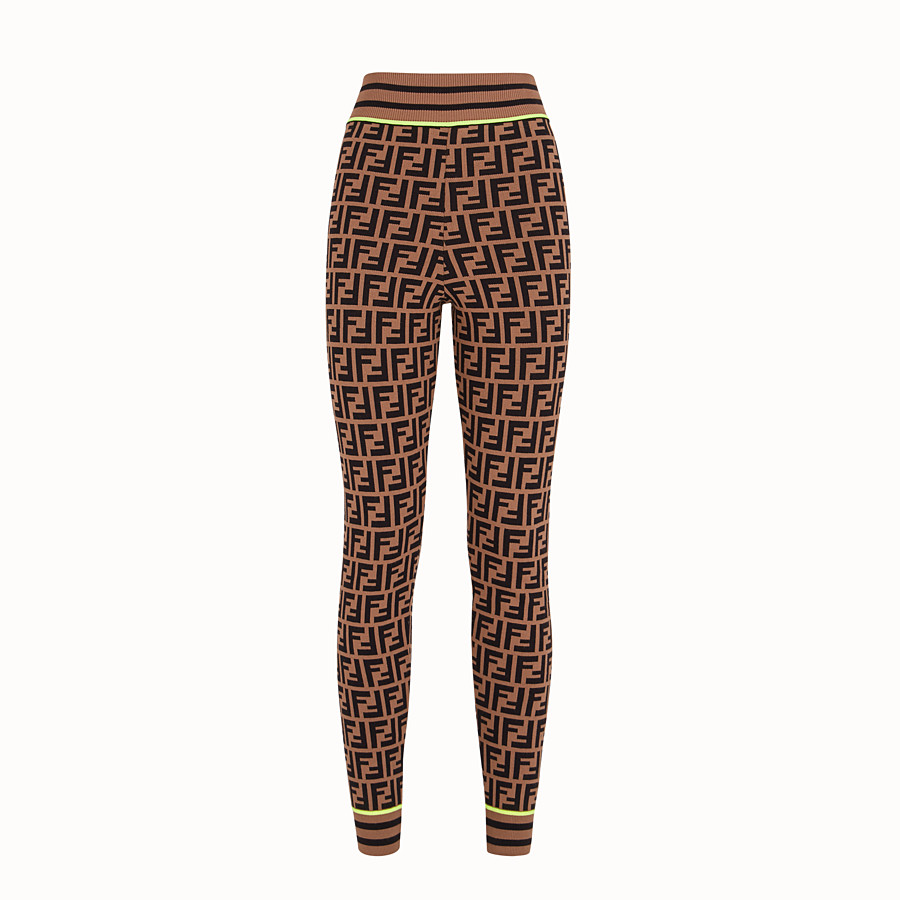 FENDI PANTALON - Legging Fendi Roma Amor en tissu - view 1 detail