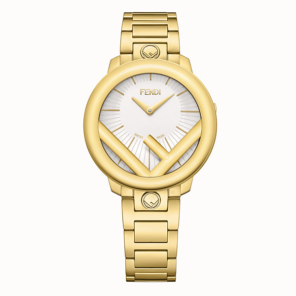 FENDI RUN AWAY - 36 mm (1.4 inch) - Watch with F is Fendi logo - view 1 small thumbnail