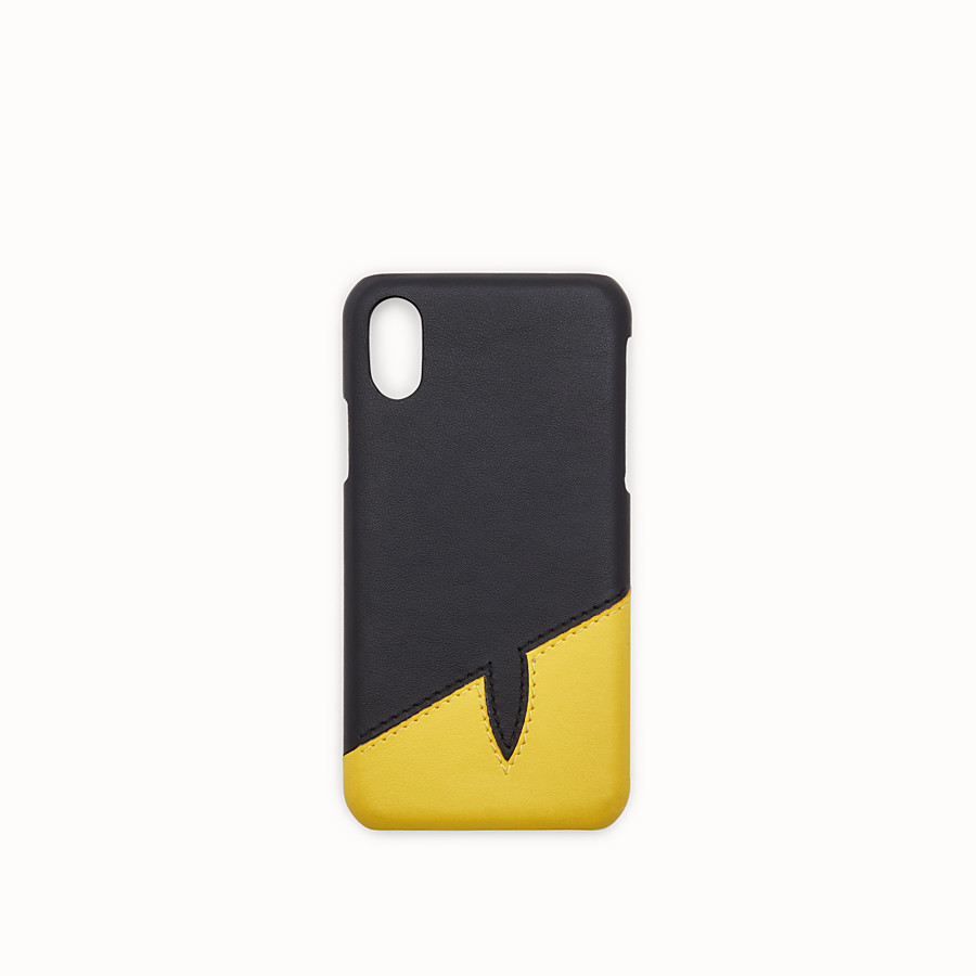 FENDI iPHONE X CASE - Black case - view 1 detail