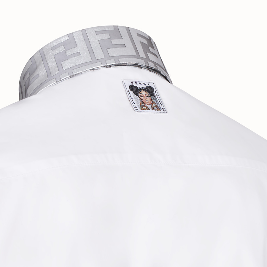 FENDI SHIRT - Fendi Prints On cotton shirt - view 3 detail