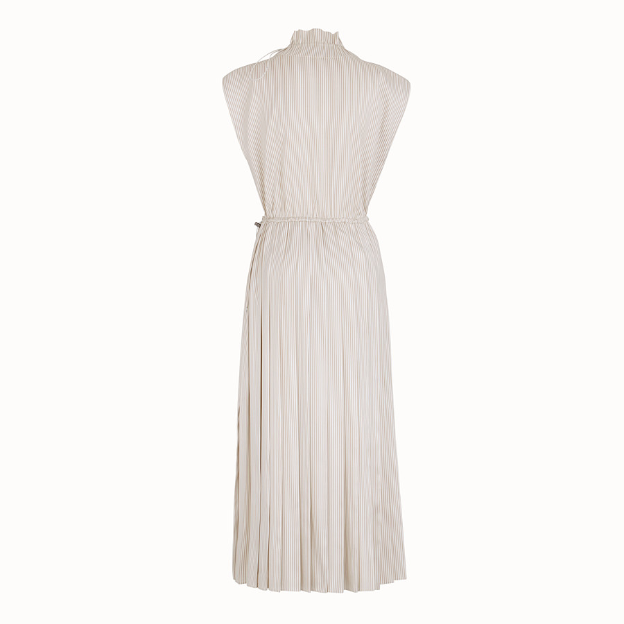 FENDI DRESS - White satin dress - view 2 detail