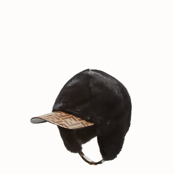 FENDI HAT - Black mink hat - view 1 small thumbnail