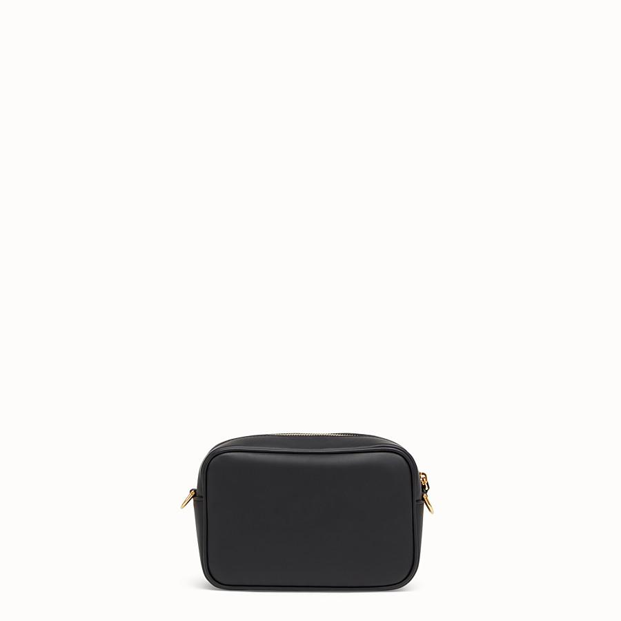 FENDI MINI CAMERA CASE - Black leather bag - view 3 detail