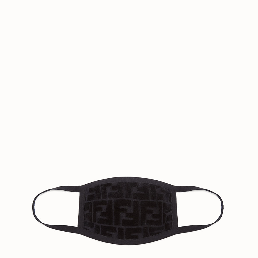 FENDI POLLUTION MASK - Fendi mask for Jackson Wang in velvet - view 1 detail