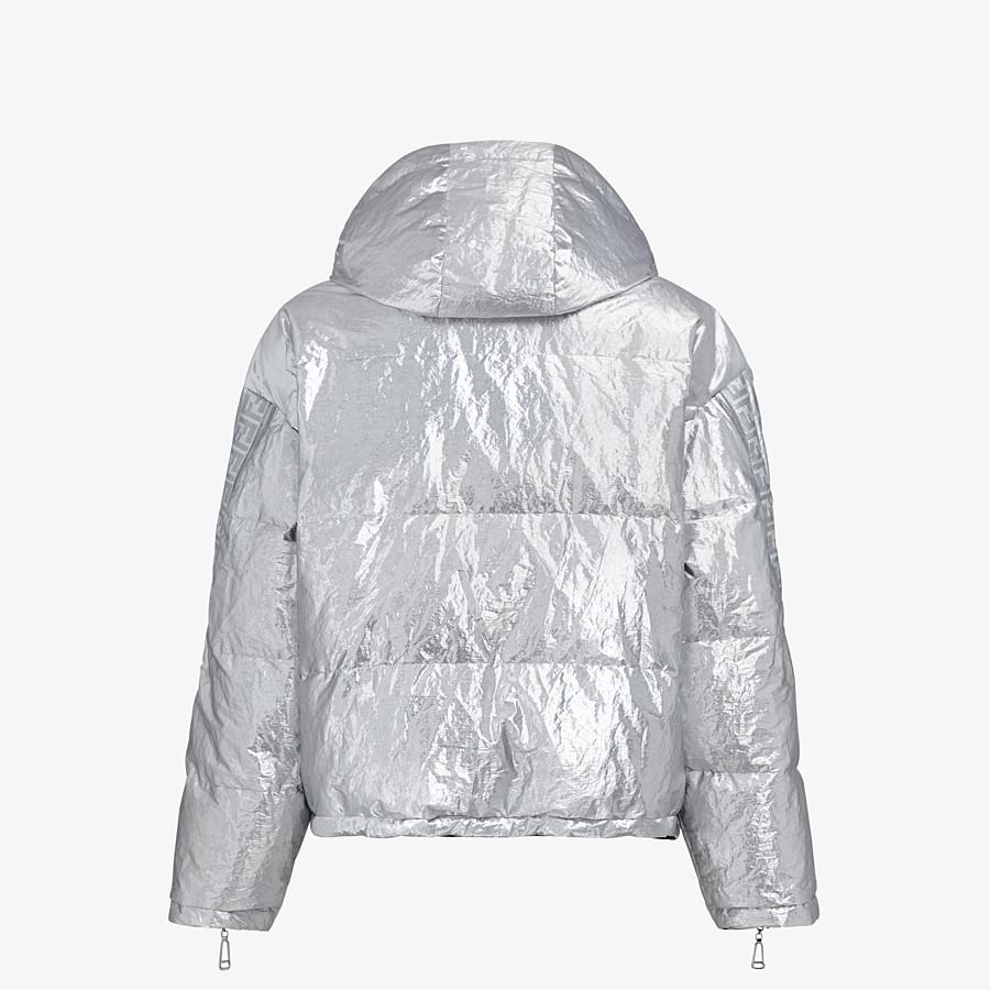 FENDI DOWN JACKET - Fendi Prints On nylon down jacket - view 2 detail