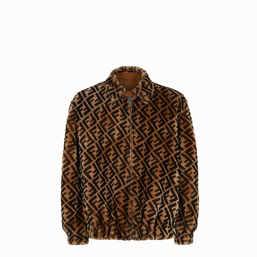 FENDI 外套 - 棕色羊皮外套 - view 1 detail