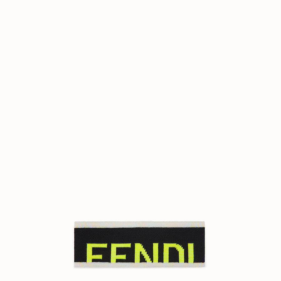 FENDI BAND - Black wool band - view 1 detail