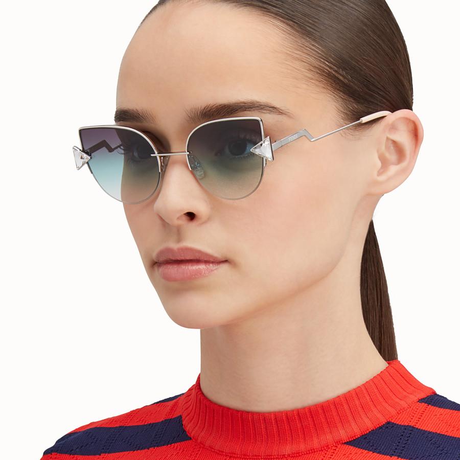FENDI RAINBOW - Palladium sunglasses - view 4 detail