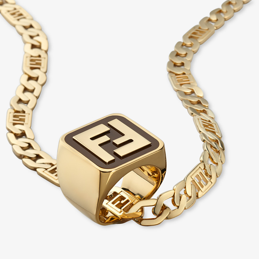 FENDI BAGUETTE HALSKETTE - Halskette Goldfarben - view 2 detail